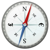 24-compass-north-south-money